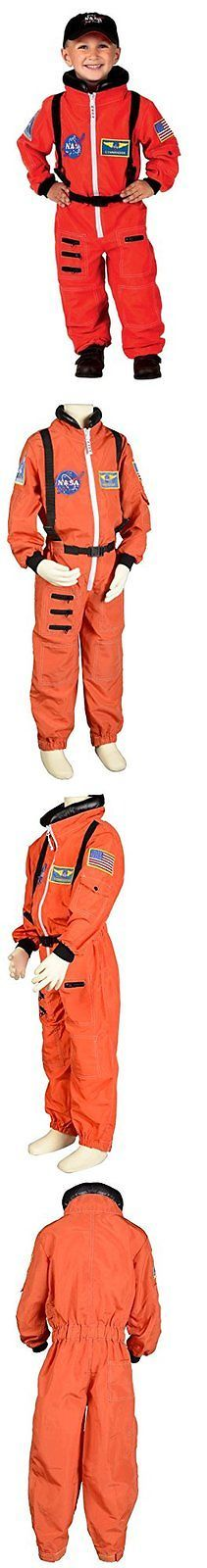 Dress-Up Costumes 19172: New Aeromax Jr. Astronaut Suit With Embroidered Cap Size 4 6 Orange -> BUY IT NOW ONLY: $39.19 on eBay!