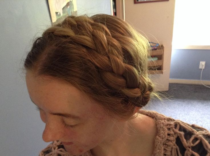 Heidi Inspired Hair Braids