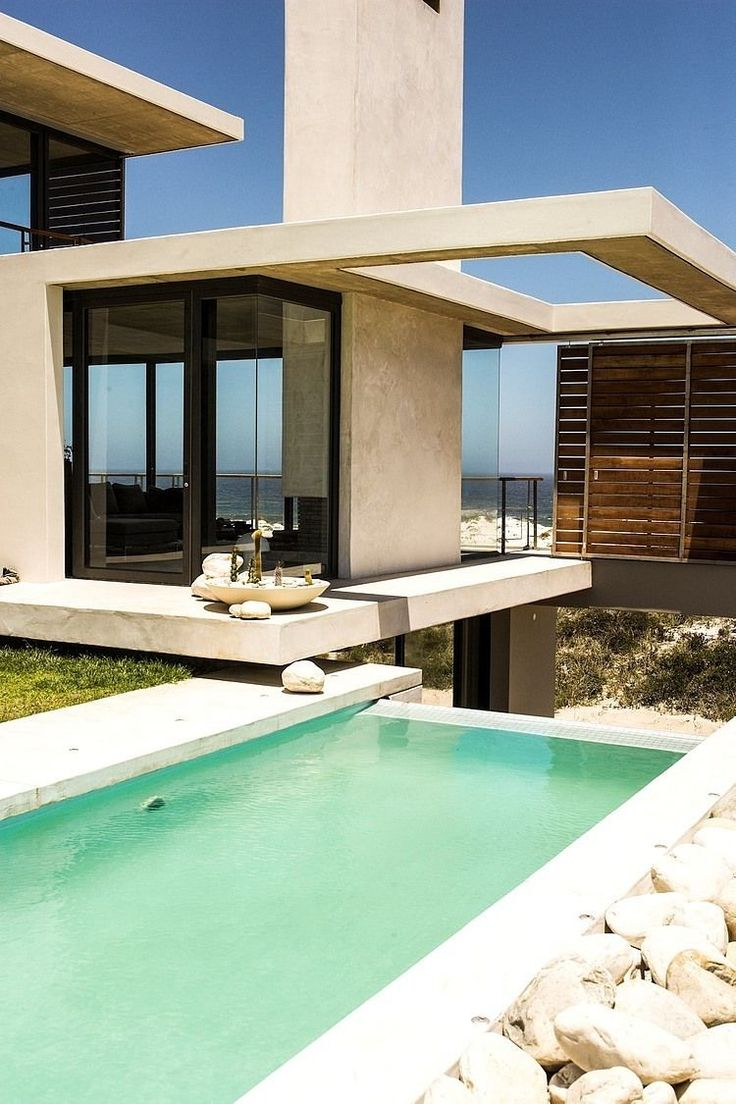 Vame By Stefan Antoni Olmesdahl Truen Architects Posted By Erin On May 2014  Stefan Antoni Olmesdahl Truen Architects Designed A Holiday Home In Pearl  Bay, ...