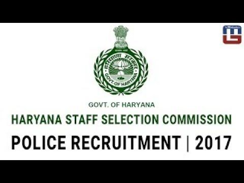 HARYANA STAFF SELECTION COMMISSION | POLICE RECRUITMENT | 2017 | VACANCIES : 5532 -  http://www.wahmmo.com/haryana-staff-selection-commission-police-recruitment-2017-vacancies-5532/ -  - WAHMMO
