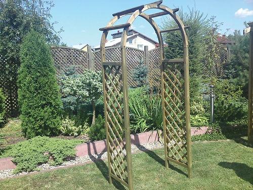 Rose Arch - Garden Decoration - Arches for Gardens | eBay £80 220x48x80cm
