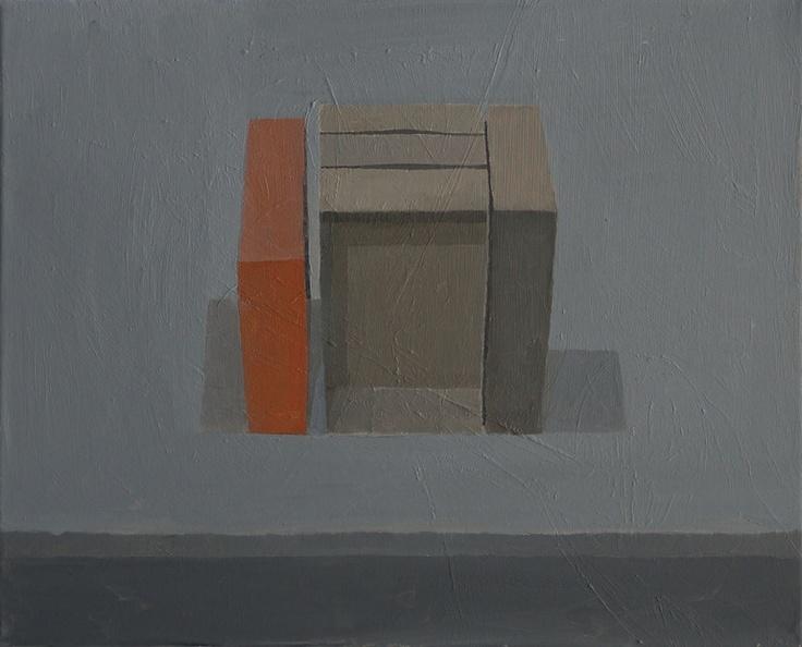 """Stuart McHarrie; Oil, 2012, Painting """"5 paintboxes"""""""