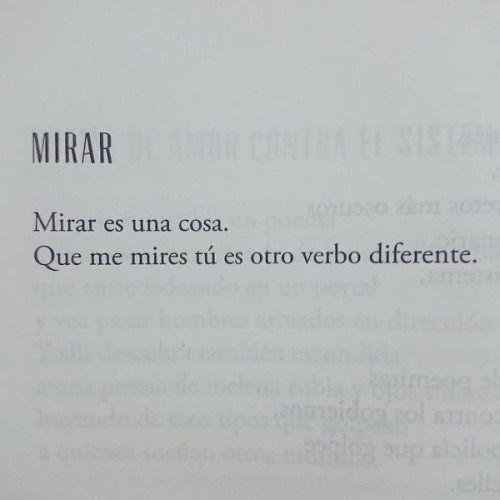 Mirar es una cosa. Que me mires tú es otro verbo diferente. #Marwan #todosmisfuturossoncontigo
