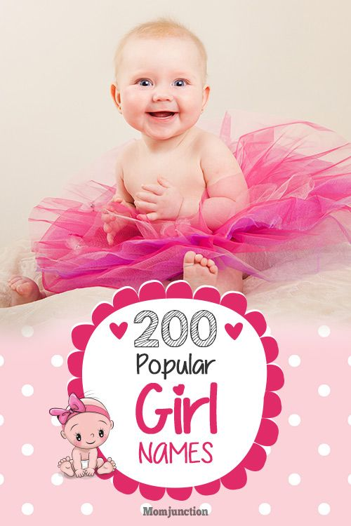 200 Most Popular Baby Girl Names With Meanings