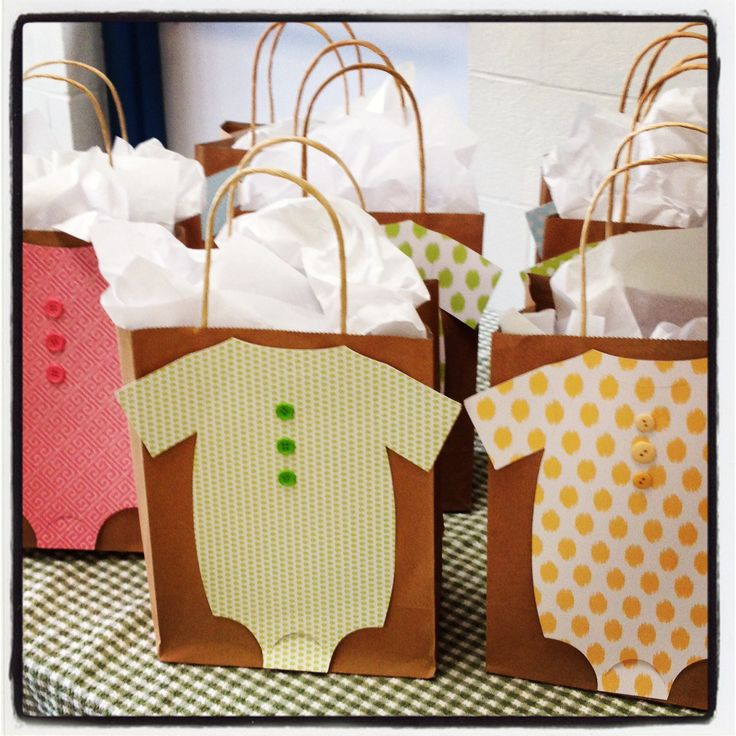 Baby Shower Prize Bag | Babyshower Ideas | Pinterest