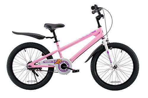 RoyalBaby BMX Freestyle Kids Bike Boys Bikes and Girls Bikes Gifts for children 20 inch wheels Pink