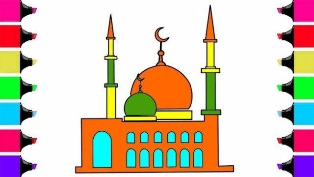 Paling Keren 30 Gambar Kartun Memakmurkan Masjid Di 2020 Kartun