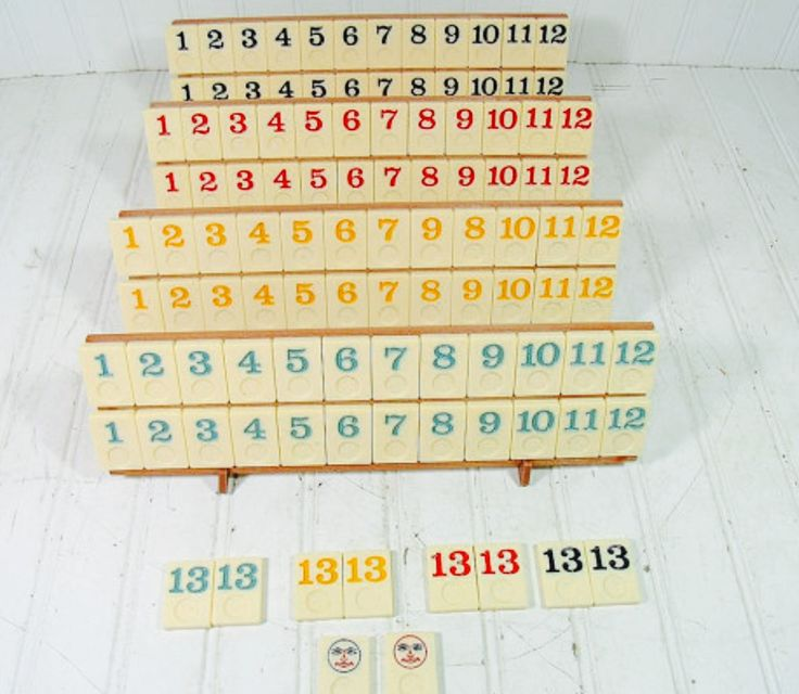 Wedding Reception Games For Guests: 106 Plastic Number Game Pieces