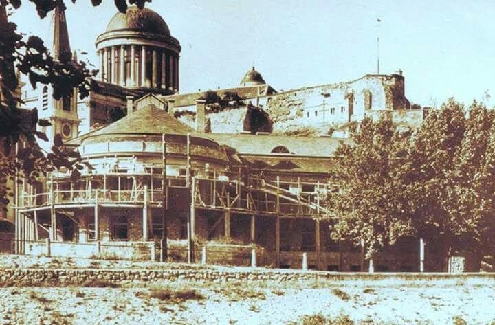 1928 körül. Iskola építése.