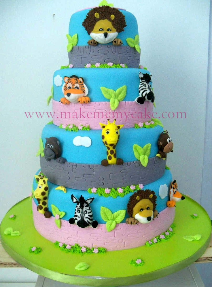 Cake Decoration Zoo : 1000+ images about Cake Decorating - animals on Pinterest ...