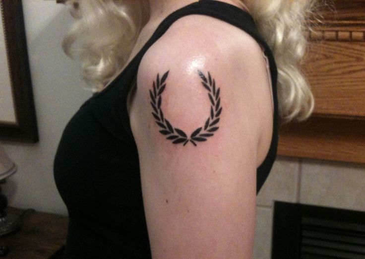 laurel wreath tattoo