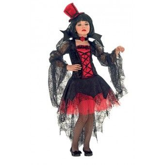 Στολή Δρακουλίνα παιδική στολές halloween Looklike.gr