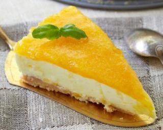 Cheesecake minceur saveur clémentine