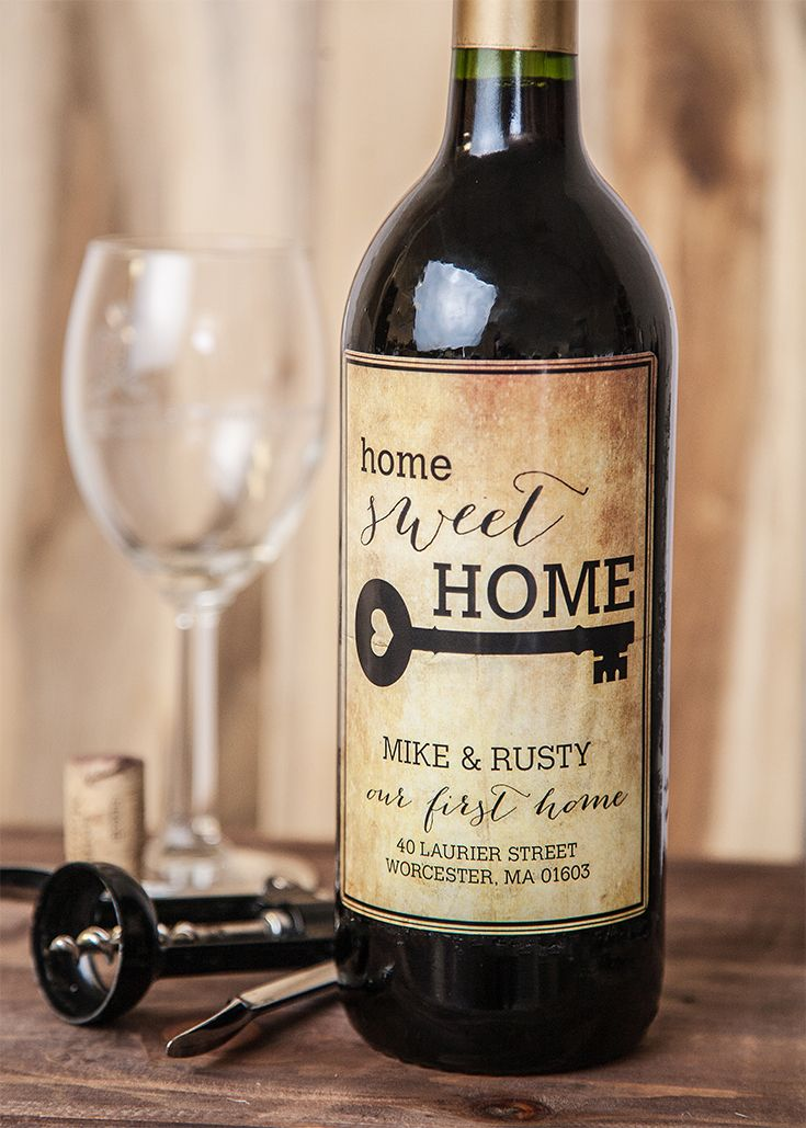 13 best images about house warming gifts on pinterest for Best wine for housewarming gift