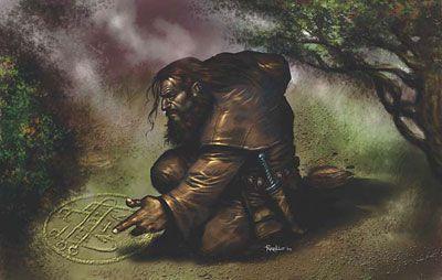 Dwarf Druid Dwarves Pinterest