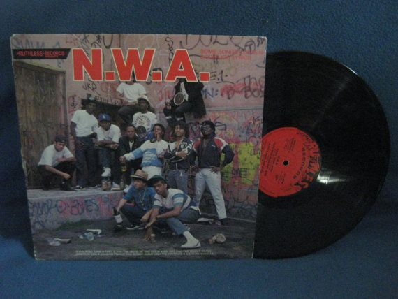 RARE Vintage N.W.A. And The Posse  Panic Zone / by sweetleafvinyl