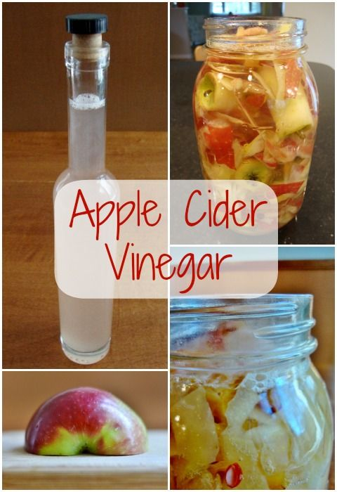 Homemade Apple Cider Vinegar | Real Food Real Deals #healthy #recipe #DIY