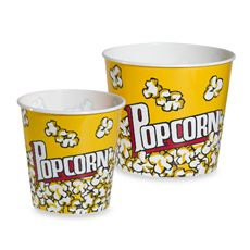 Cinema Style Popcorn Tubs - Bed Bath & Beyond. Perfect For The Movie Night At Home!
