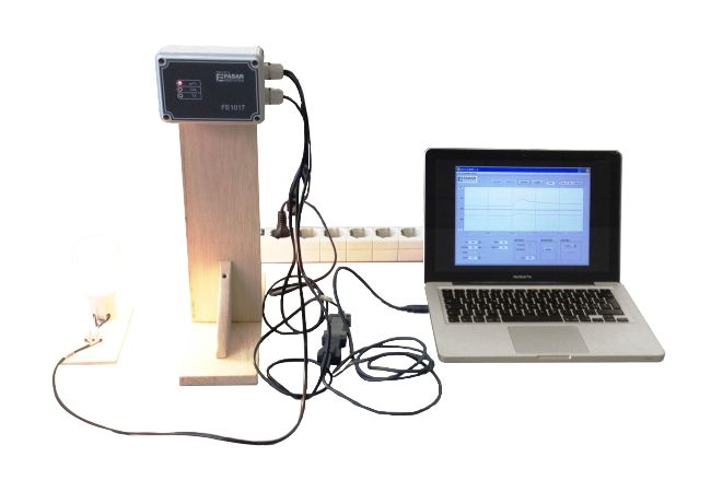 test of the air quality sensor FE1017