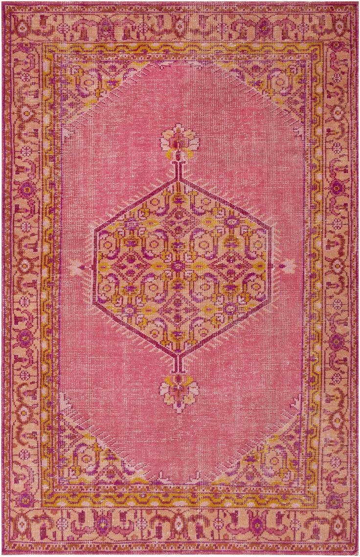 mirabelle rug pink