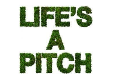 """Life's a pitch"". Especially when you're in PR..."