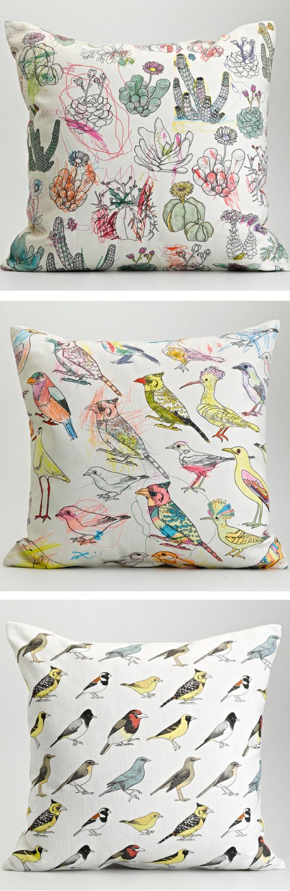 Color yourself cushions