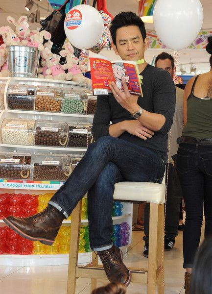 John Cho Pictures - Dylan's Candy Bar And Milk + Bookies Partner For The LA Launch Of The 50th Anniversary Charlie And The Chocolate Factory Capsule Collection - Zimbio