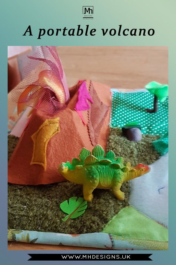 Dinosaur Land Play Mat Roll Up Quiet Play Mat Quiet Book Imaginative Play Mat Imaginative Play Business For Kids Toddler Gifts