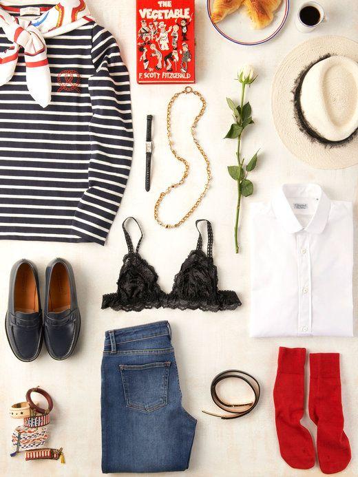 【ELLE】パリジェンヌのワードローブにようこそ! エル・オンライン Having this 13 items to become a Parisienne.