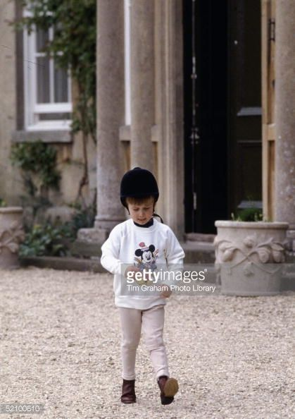Prince William In His Riding Gear At His Home, Highgrove In... News Photo | Getty Images