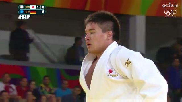 『VIDEO』JP,ONLY/柔道 男子90kg級2回戦 ベイカー茉秋 vs M.オデンタル