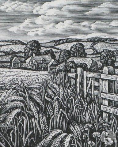 Wood Engravings by Howard Phipps from The Jerram Gallery, Sherborne, Dorset…