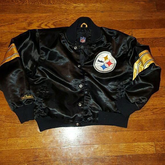 Authentic NFL Steelers Jacket Child Size Large Authentic Steelers NFL Jackets & Coats Puffers