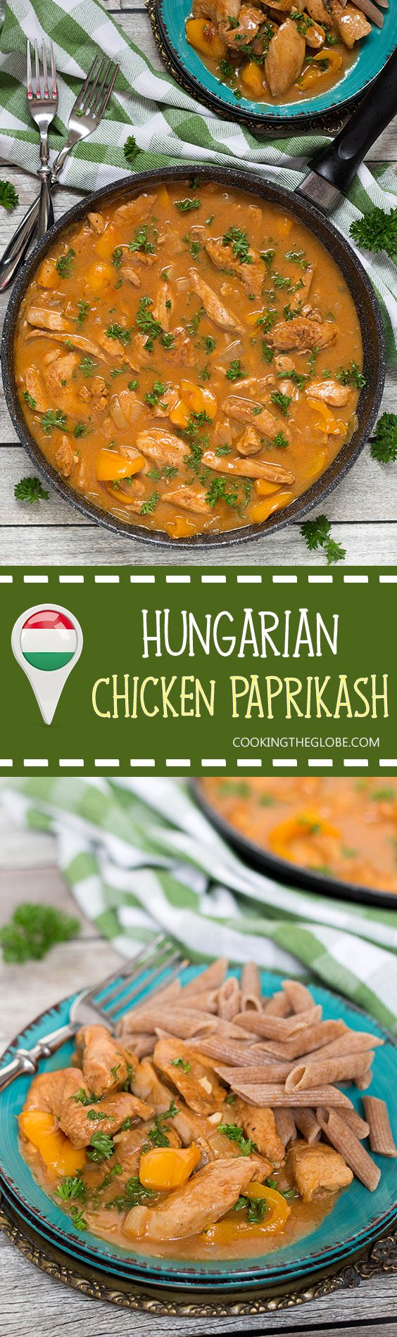 Hungarian Chicken Paprikash is basically a paprika flavored chicken. This dish…