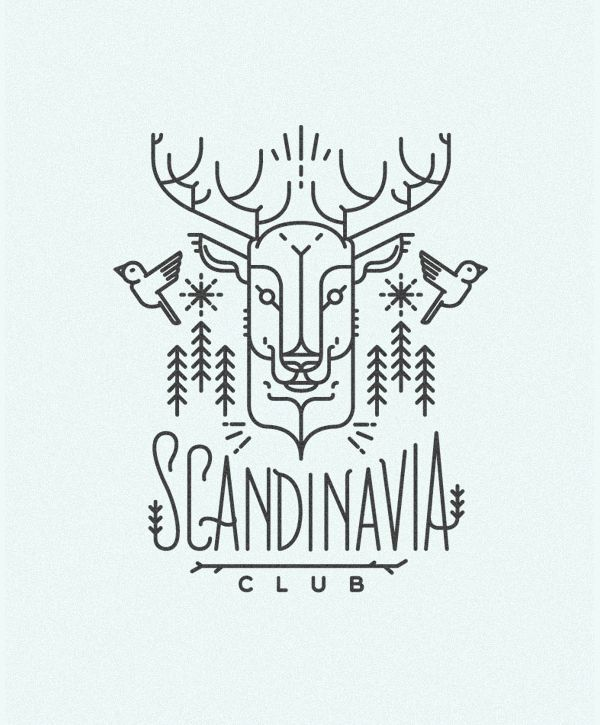 Scandinavia Club illustration