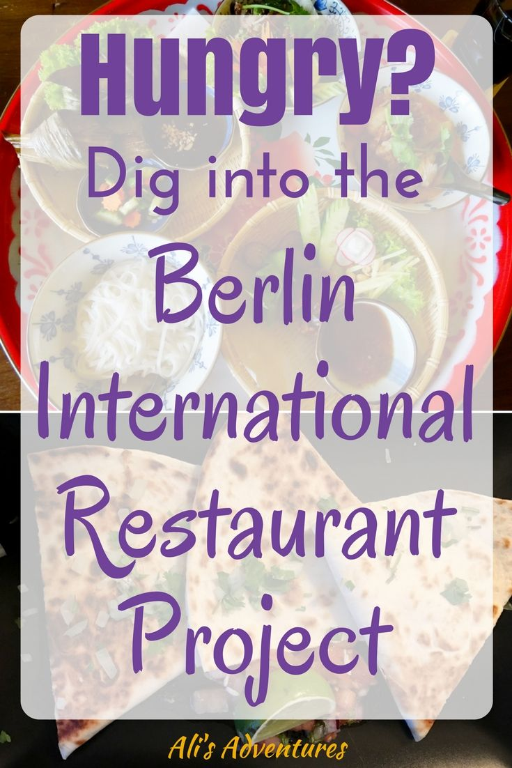 Hungry? Dig into the Berlin International Restaurant Project. I'm eating my way around the city by trying one restaurant for every country in the world to break out of my rut and find new favorite dishes.