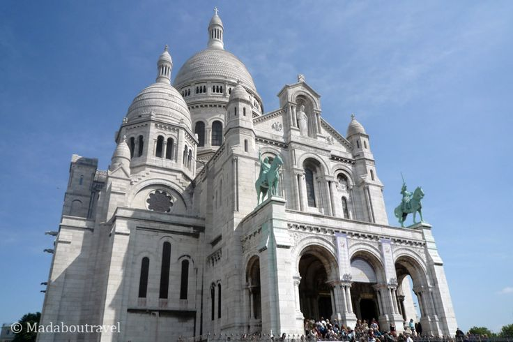 Le Sacré Coeur, Montmartre, Paris