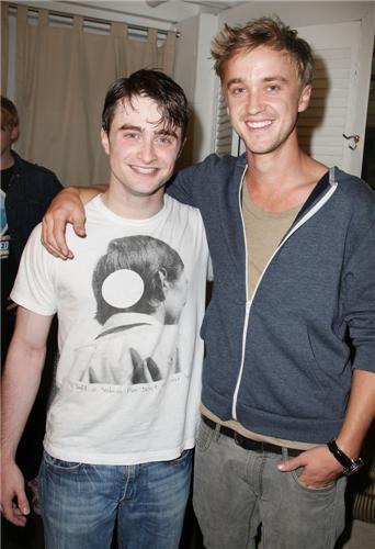 hp boys ... daniel radcliffe and tom felton <3