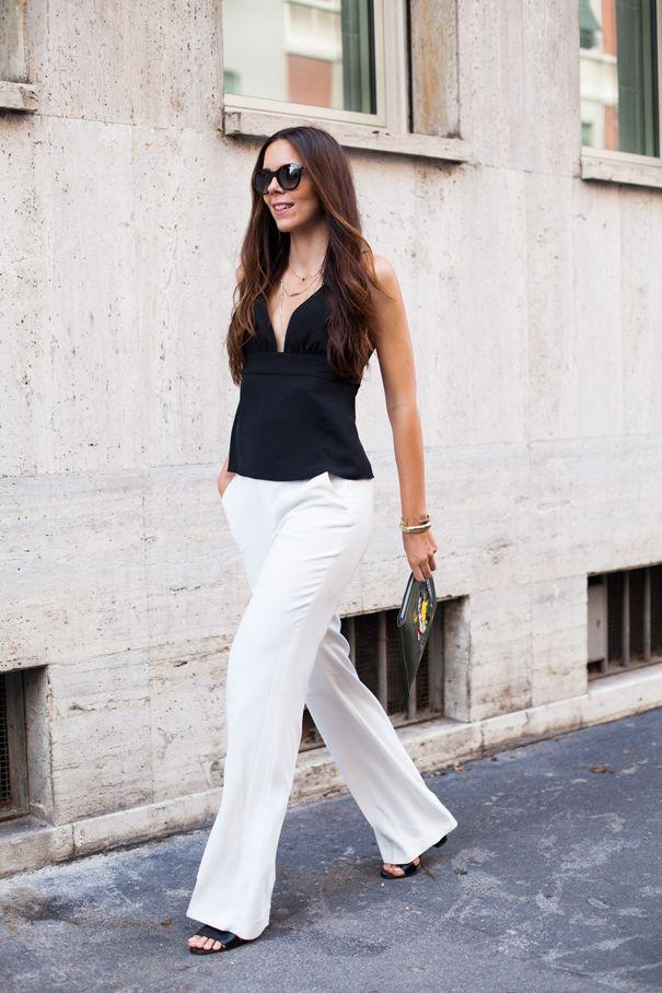 #fashion #fashionista @ireneccloset look bianco e nero