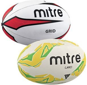 MITRE GRID RUGBY BALL | Asll.co.uk
