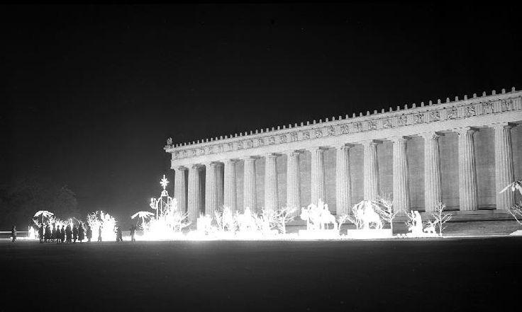 Harvey's Nativity Scene at the Parthenon in Nashville TN ; circa 1960.