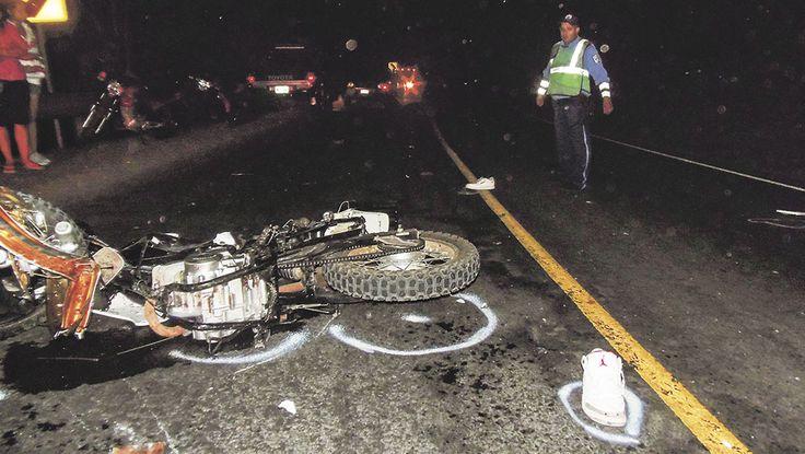 Bebé sobrevive a accidente en moto en el que murieron sus padres en Nicaragua | Portal de Nicaragua