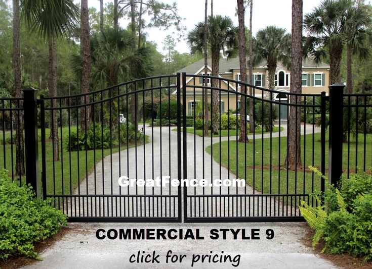 Best 25 Aluminum Driveway Gates Ideas On Pinterest