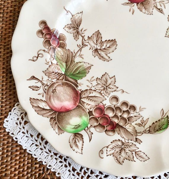 Johnson Brothers China Harvest Time Dinner Plate Hand