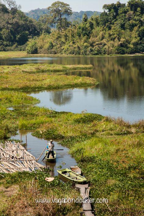 Cat Tien National Park, Crocodile Lake