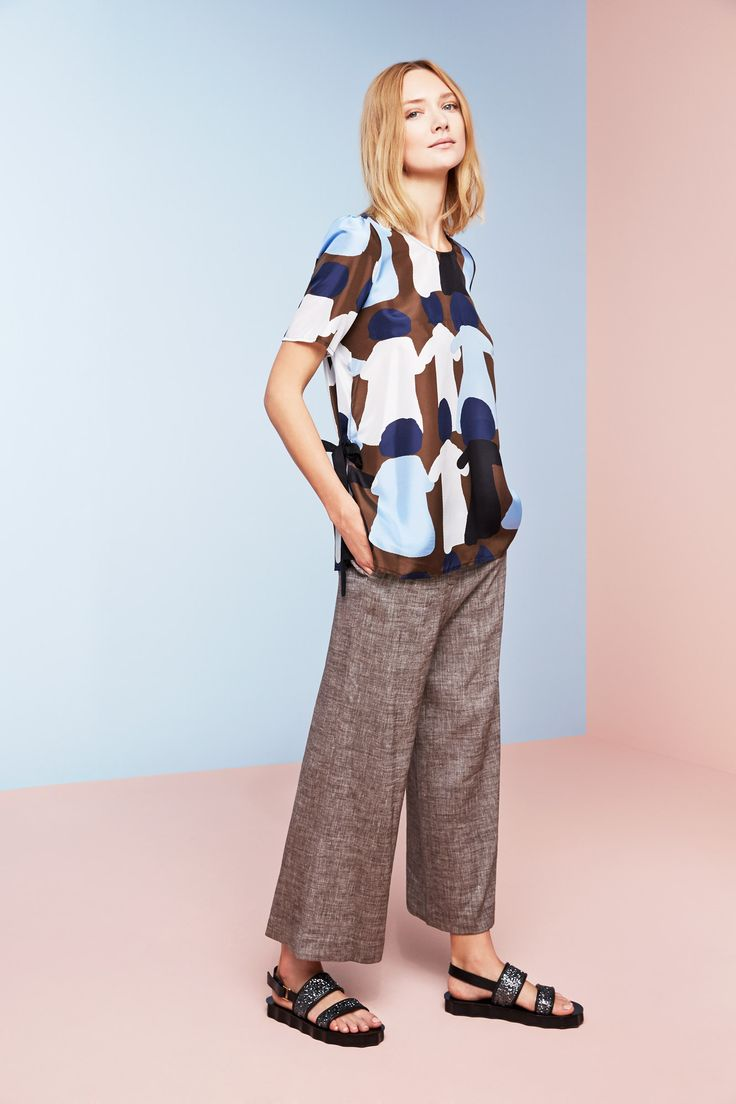 #lautrechose #look #fashion #ss15 #culottes #trousers #workwardrobe #spring #trend #seasontrend