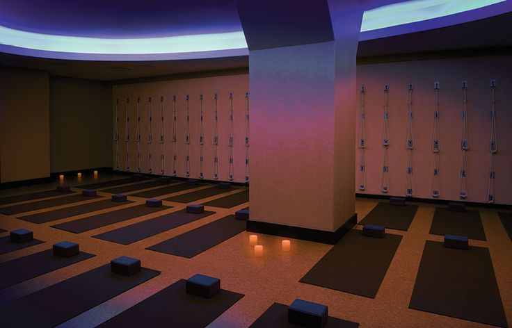Begin your day with an invigorating heated workout at @Pure Yoga New York Official's serene studio on the Upper East Side.