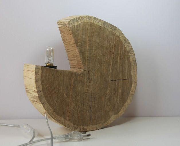 "Lampa ""Pac Man"" - Blauth-Hand-Made - Lampy stołowe"