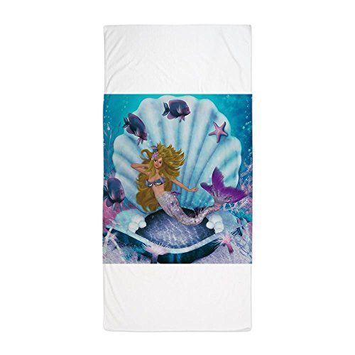 CafePress+–+Best+Seller+Merrow+Mermaid+–+Large+Beach+Towel,+Soft+30″x60″+Towel+with+Unique+Design
