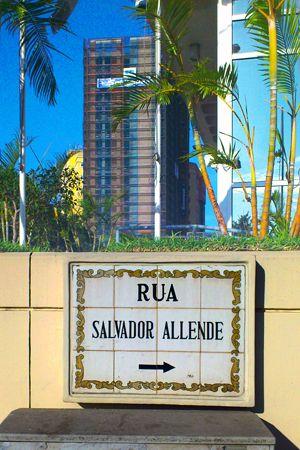 calle Salvador Allende. Luanda,  Angola